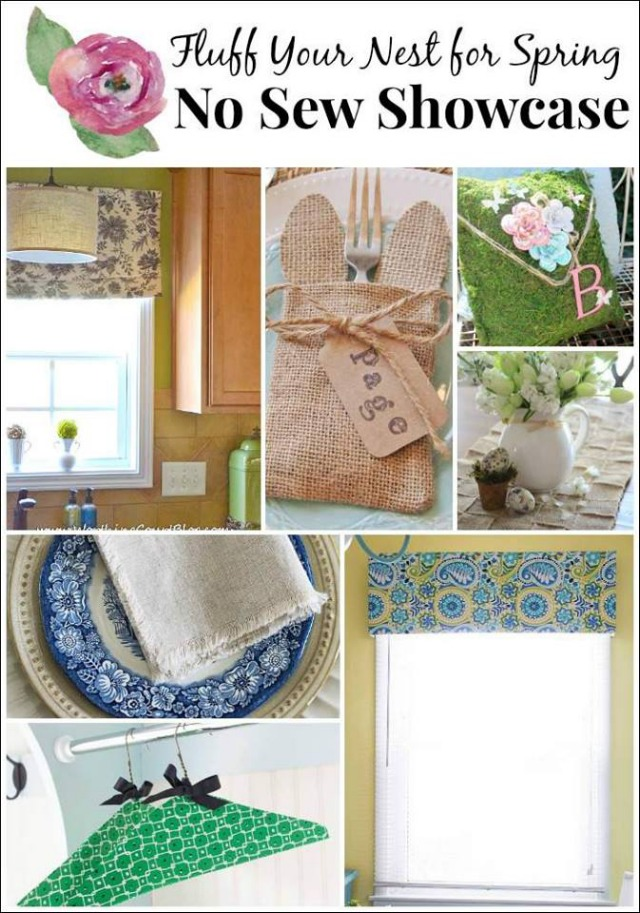 No-Sew Craft Projects for Spring
