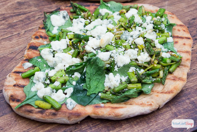 Grilled Flatbread Pizza Recipe & Spring Recipe Link Party