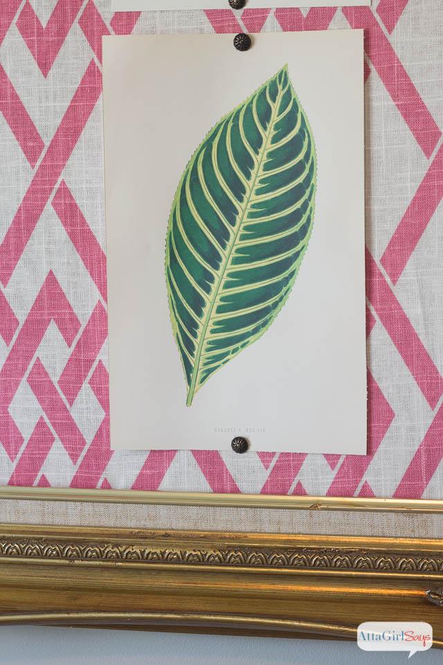 DIY Bulletin Board Cheap Wall Art with Free Printables - Atta Girl Says