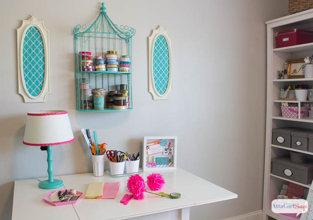 Home office ideas craft room makeover - Small space makeovers ideas ...