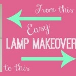 Easy Lamp Makeover with DecoArt Paint