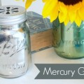 Mirrored Mercury Glass Mason Jar Crafts