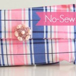 Spring Fashion: Make a No-Sew Wristlet Clutch