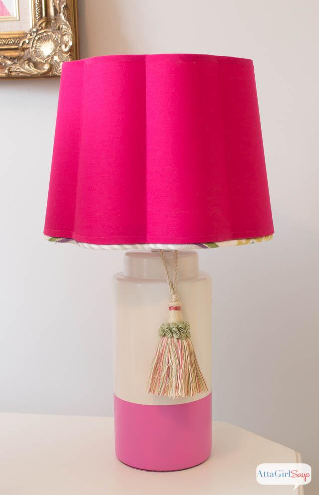 Easy Lamp Makeover
