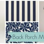Back Porch Makeover Plans