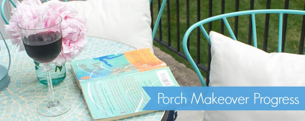 Porch Makeover Progress: DIY Outdoor Chair Cushions