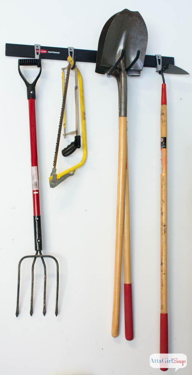 rubbermaid garage organization ideas - Garage Organization Ideas with Rubbermaid FastTrack Atta