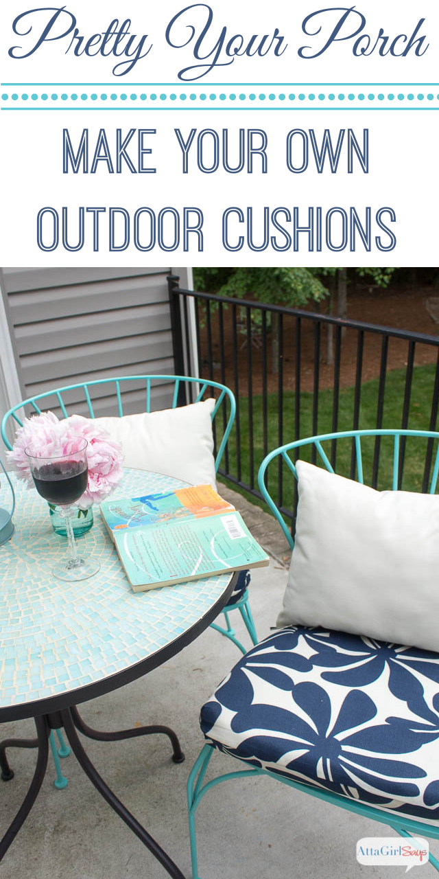 Diy Patio Cushions No Sew