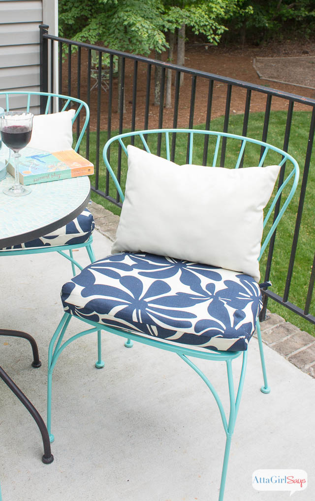 diy outdoor chair cushions easy sew project