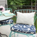 DiY Outdoor Chair Cushions: Easy Sew Project