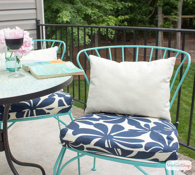 Superior DiY Outdoor Chair Cushions: Easy Sew Project