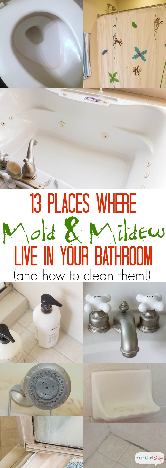 how to get rid of mildew in bathroom