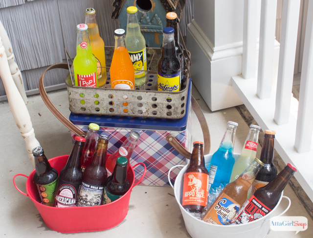 Specialty Chips & Vintage Soda Tasting Party : What a great idea for Father's Day or a little father-son bonding time.