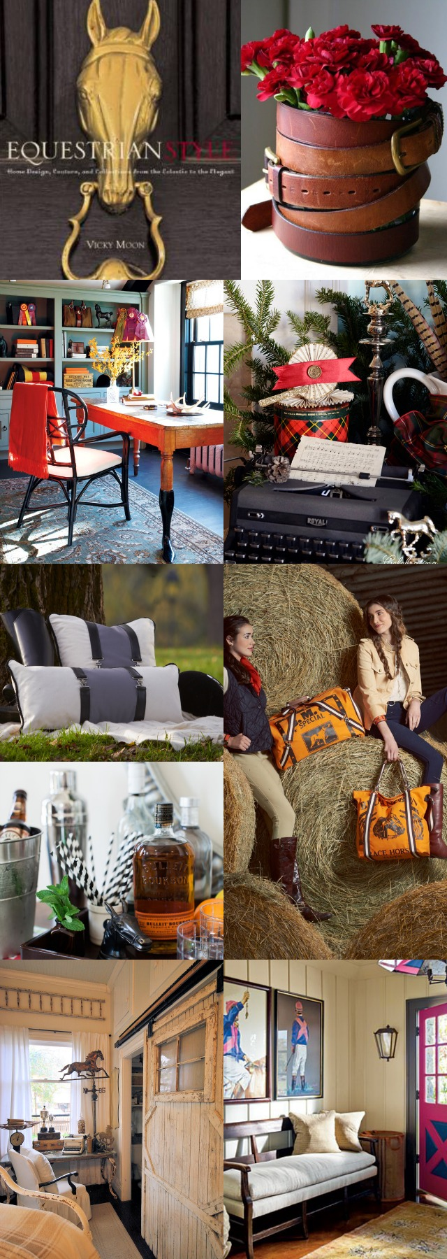 Equestrian Style Decorating & Fashion Inspiration