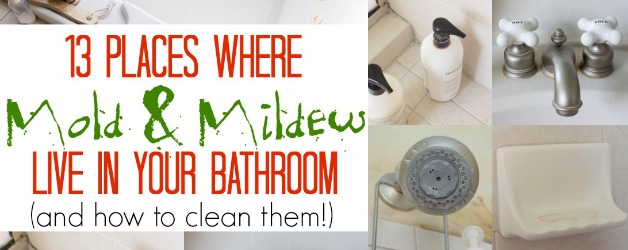 How To Get Rid Of Mildew And Mold In The Bathroom Atta Girl Says
