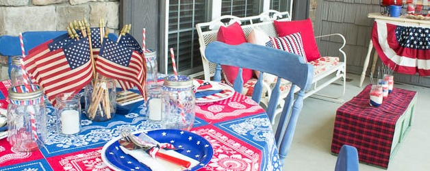 Patriotic Fourth of July Party Ideas