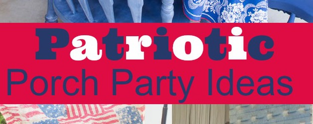 Patriotic Party & Decorating Ideas