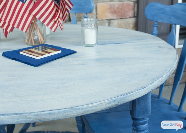 How to paint laminate furniture kitchen table maekover atta girl says how to paint laminate furniture kitchen table maekover workwithnaturefo