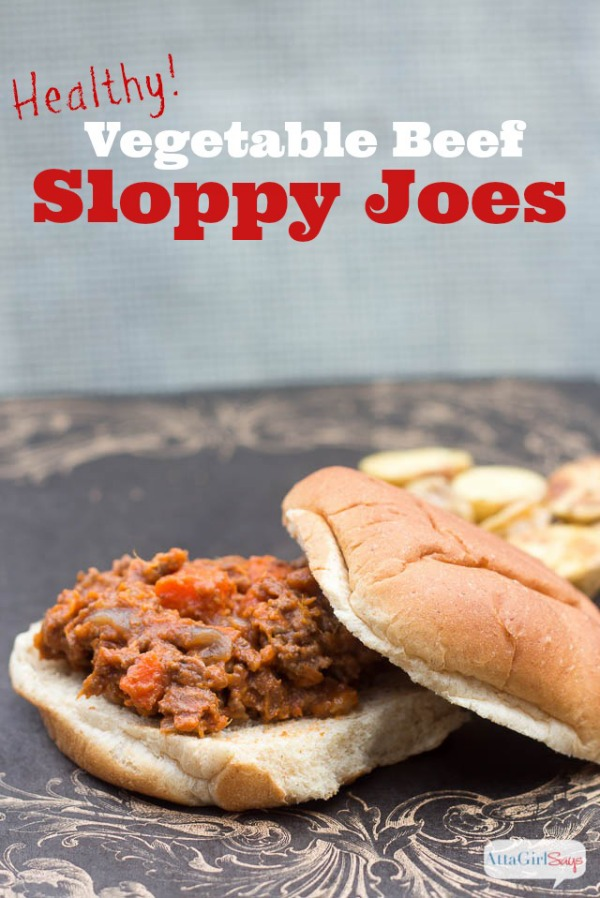Healthy Veggie-Packed Sloppy Joes from Atta Girl Says