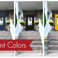 Adding Curb Appeal: Experimenting with Front Door Colors with Modern Masters