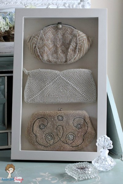 Decorating and Organizing with Shadow Box Frames