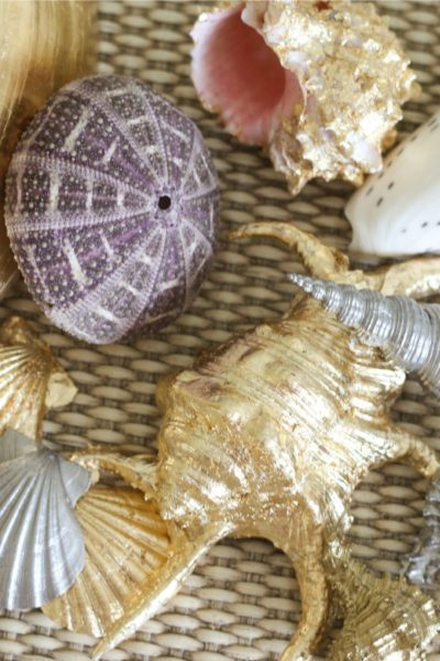 Gilded Seashells: Two Easy Ways to Get the Beachy Glam Look