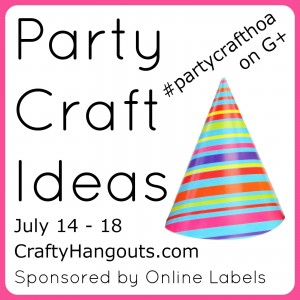 Party Craft Ideas with Atta Girl Says and OnlineLabels.com