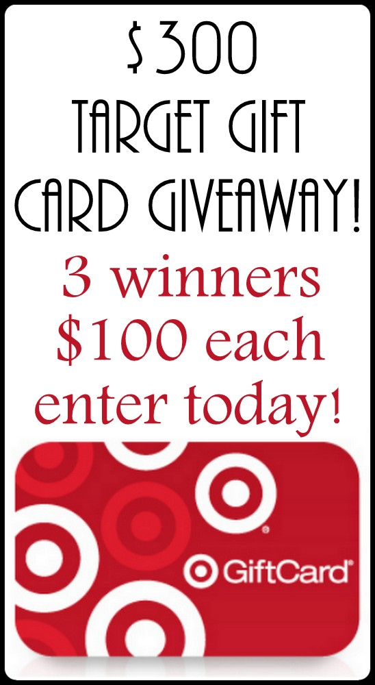 Target Gift Card Giveaway at AttaGirlSays.com