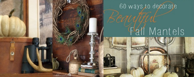 60 Fall Mantel Decorating Ideas