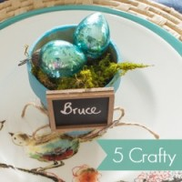 5 Crafty (And Cheap!) Place Card Holders You Can Make for