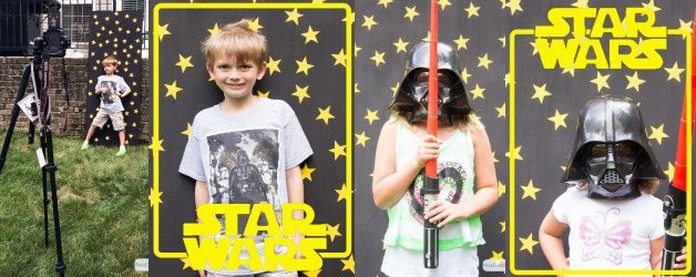 Star Wars Birthday Party Photo Backdrop