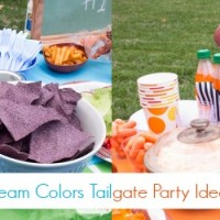 Show Your Team Colors Tailgating Party Ideas