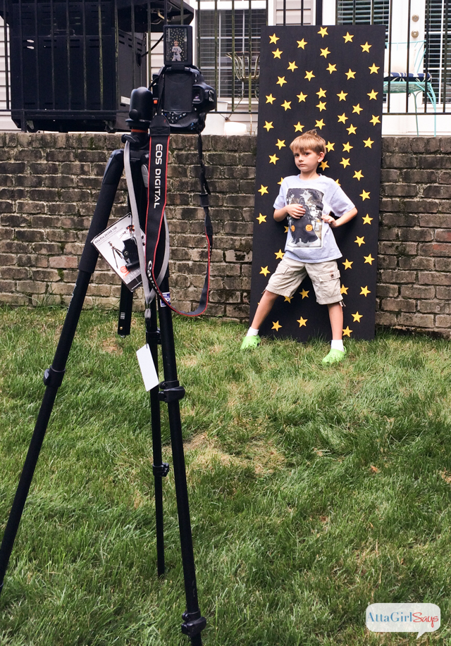 Star Wars Birthday Party Photo Backdrop Atta Girl Says