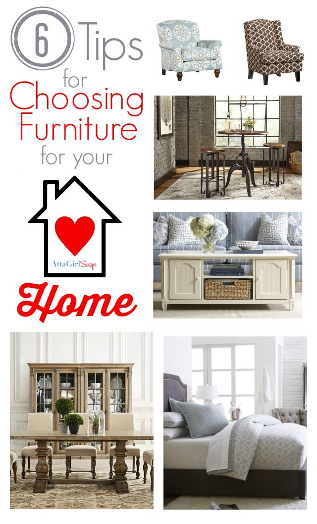 6 Tips for Choosing Furniture for Your Home