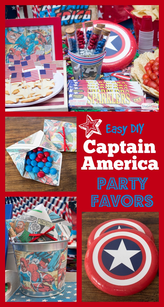 Captain America Party Ideas For Kids And Adults Atta Girl Says