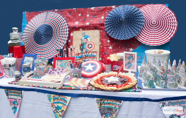 Captain America Party Ideas For Kids And Adults Atta