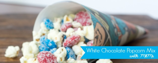 White Chocolate Popcorn Snack Mix