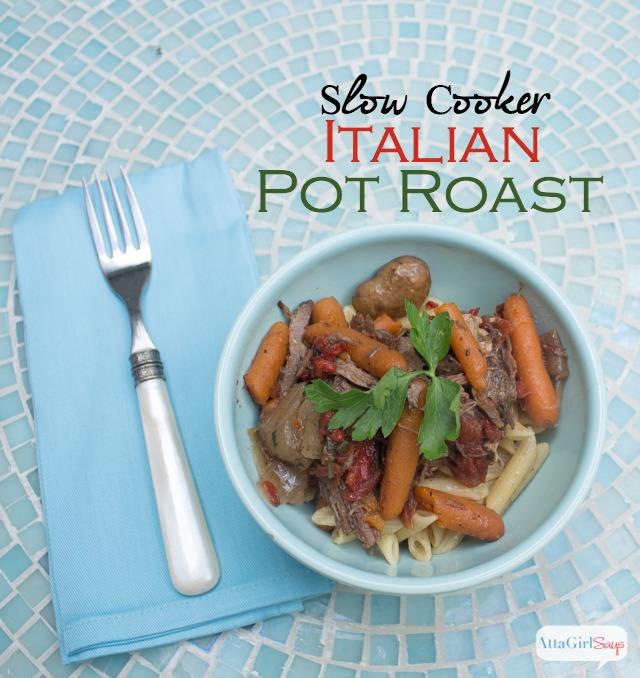 Italian Slow Cooker Pot Roast Recipe