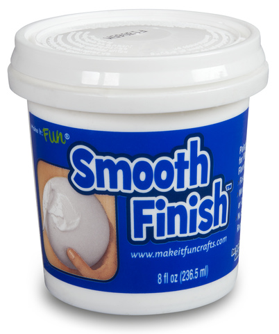 Smooth Finish Paintable Coating for Styrofoam