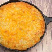 Cheesy Green Chile Cornbread Recipe