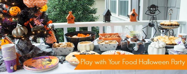 Play with Your Food Halloween Snacks & Party Ideas