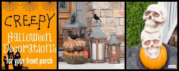 Outdoor Halloween Decorations: Spooky Porch