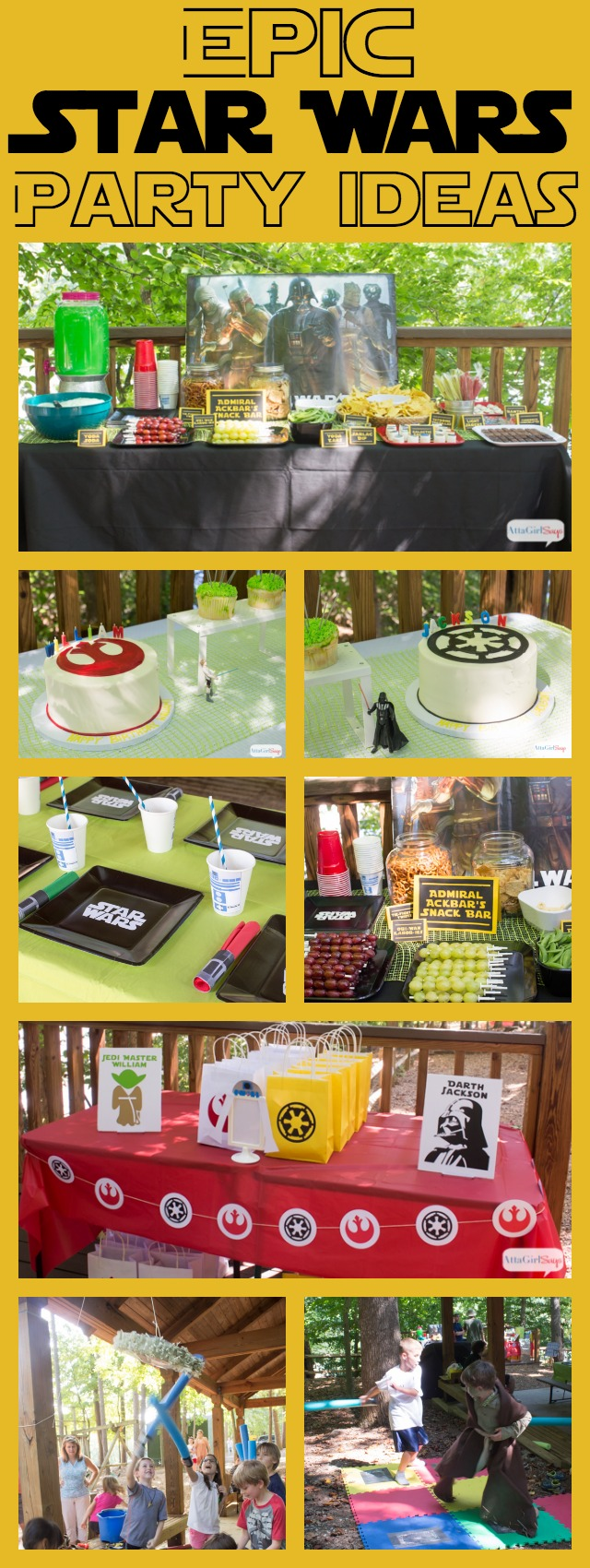 Epic Star Wars Party Ideas
