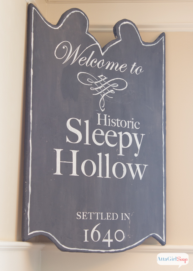 Legend of Sleepy Hollow Halloween Sign
