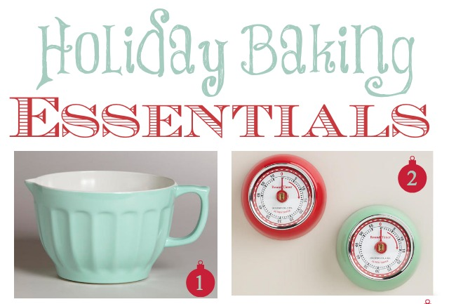 Holiday Baking Essentials & Homemade Food Gifts