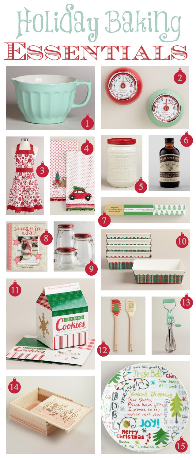 Holiday baking essentials homemade food gifts atta for Homemade baking gifts for christmas