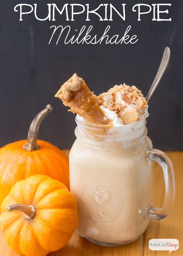Easy Pumpkin Pie Milkshake Recipe