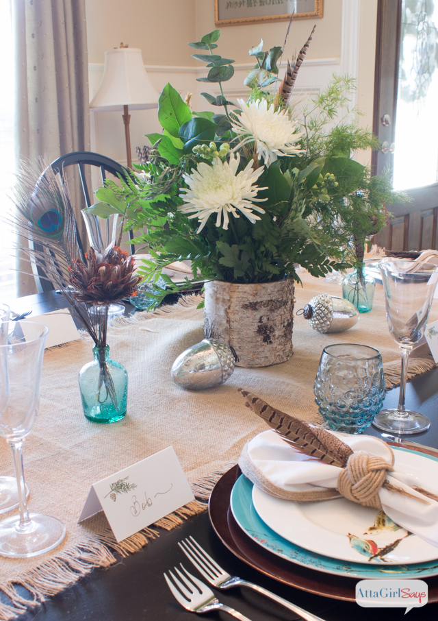 Runway-Inspired Thanksgiving Table Setting
