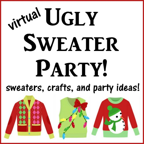 32b91c70b0bf49 Ugly Christmas Sweater Party Gift Tags - Atta Girl Says