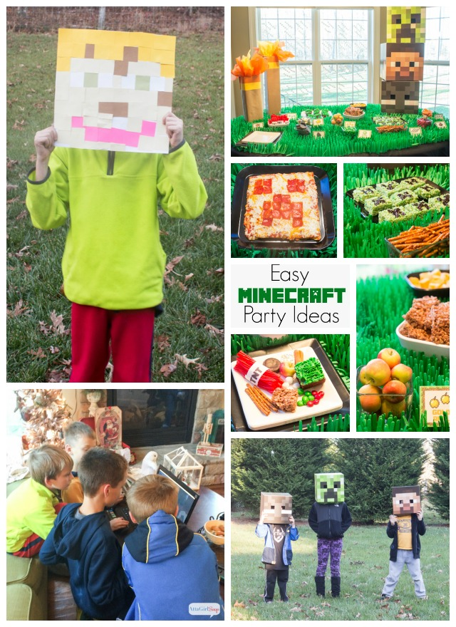photograph regarding Minecraft Party Ideas Printable identify Minecraft Get together Recommendations For An Epic Gamer Birthday